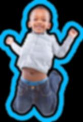 kid jumping