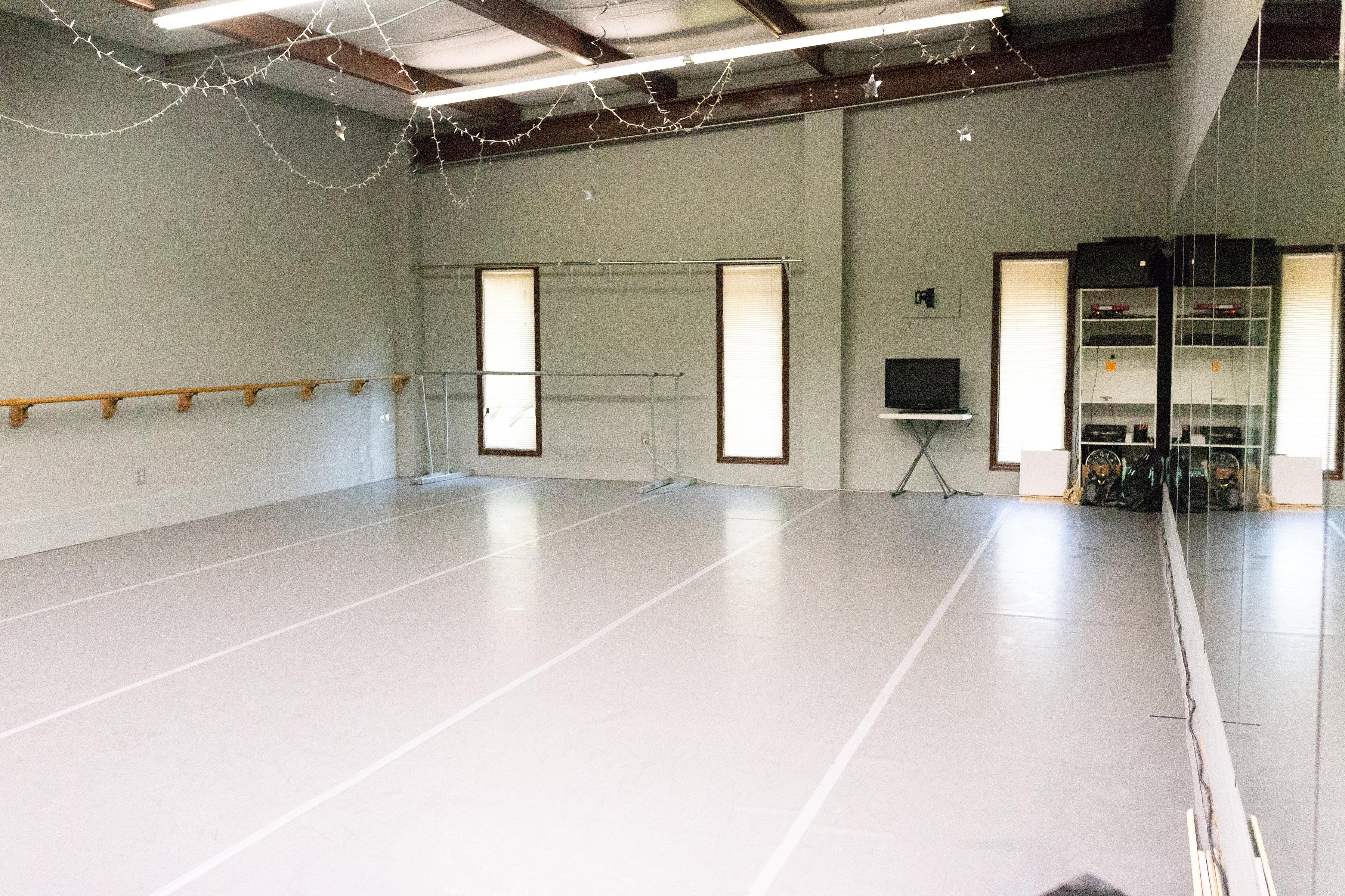 wesmark dance studio inside