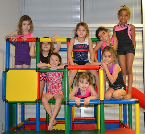 Little girls enjoying after school program