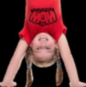 happy girl at WOW gymnastics