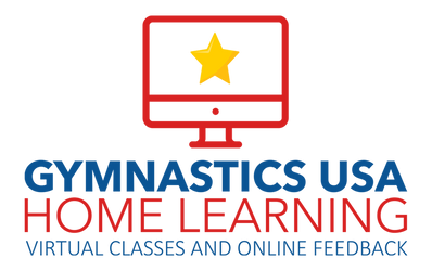 Gymnastics USA home learning virtual classes and online feedback for kids, corona virus