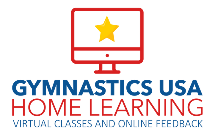 Gymnastics USA home learning virtual classes and online feedback for kids, corona virus
