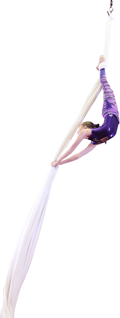 Gymnastics, Dance, and other after school activities for kids this is Climbers Aerial Silks and Arts
