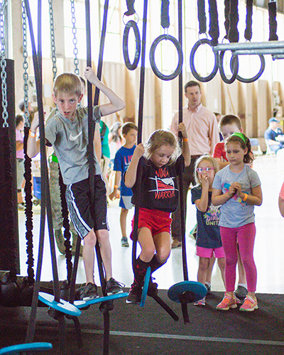 ninja warrior kids training