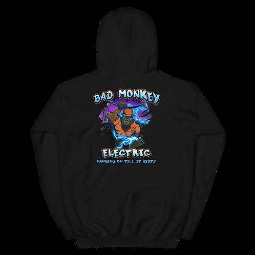 Bad Monkey Electric Hoodie (Printing on Back)