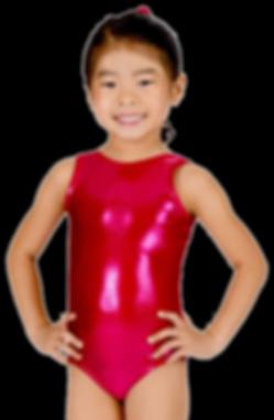 girl learning gymnastics at spotlight