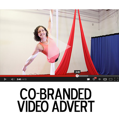 Custom Co-Branded Video Advert