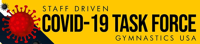 Staff Driven COVID 19 Task Force Banner.