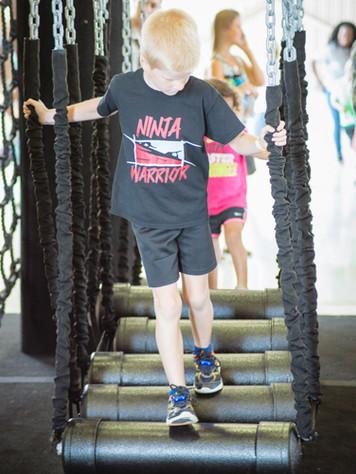 ninja warrior kid