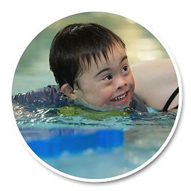 Specia Needs swimming lessons Swimming lessos for special needs Water Waves Specia Needs