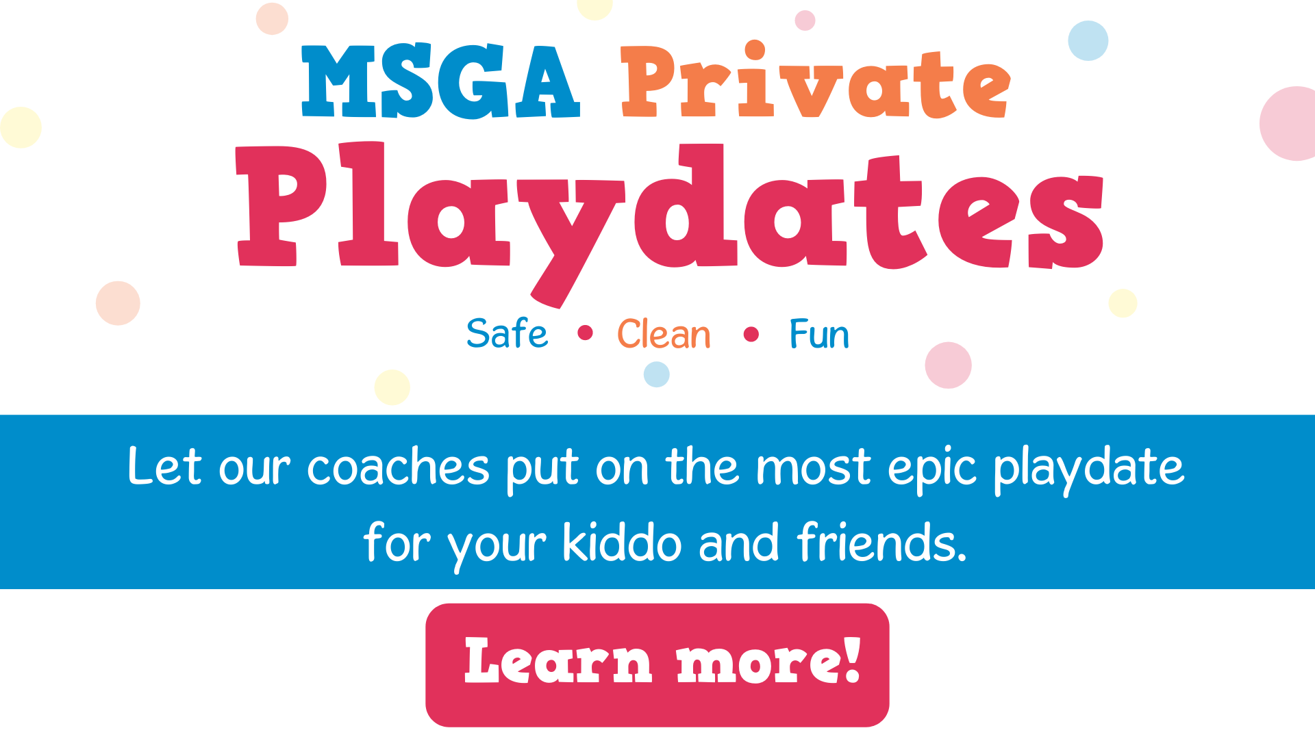 private playdates