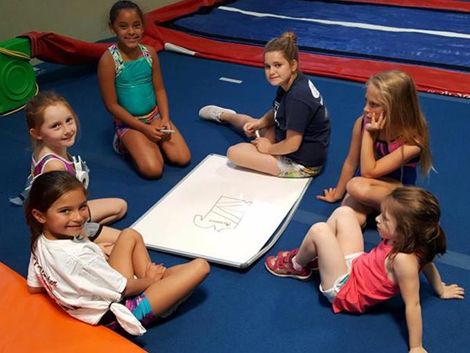 kids drawing time