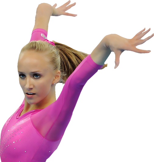 female gymnast