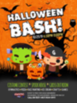 18x24 HALLOWEEN Bash PNO Flyer - OCT 201