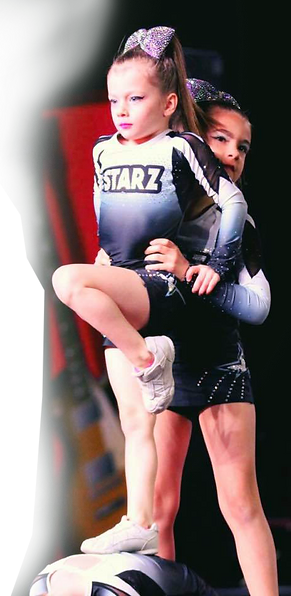 cheerleading partner stunts