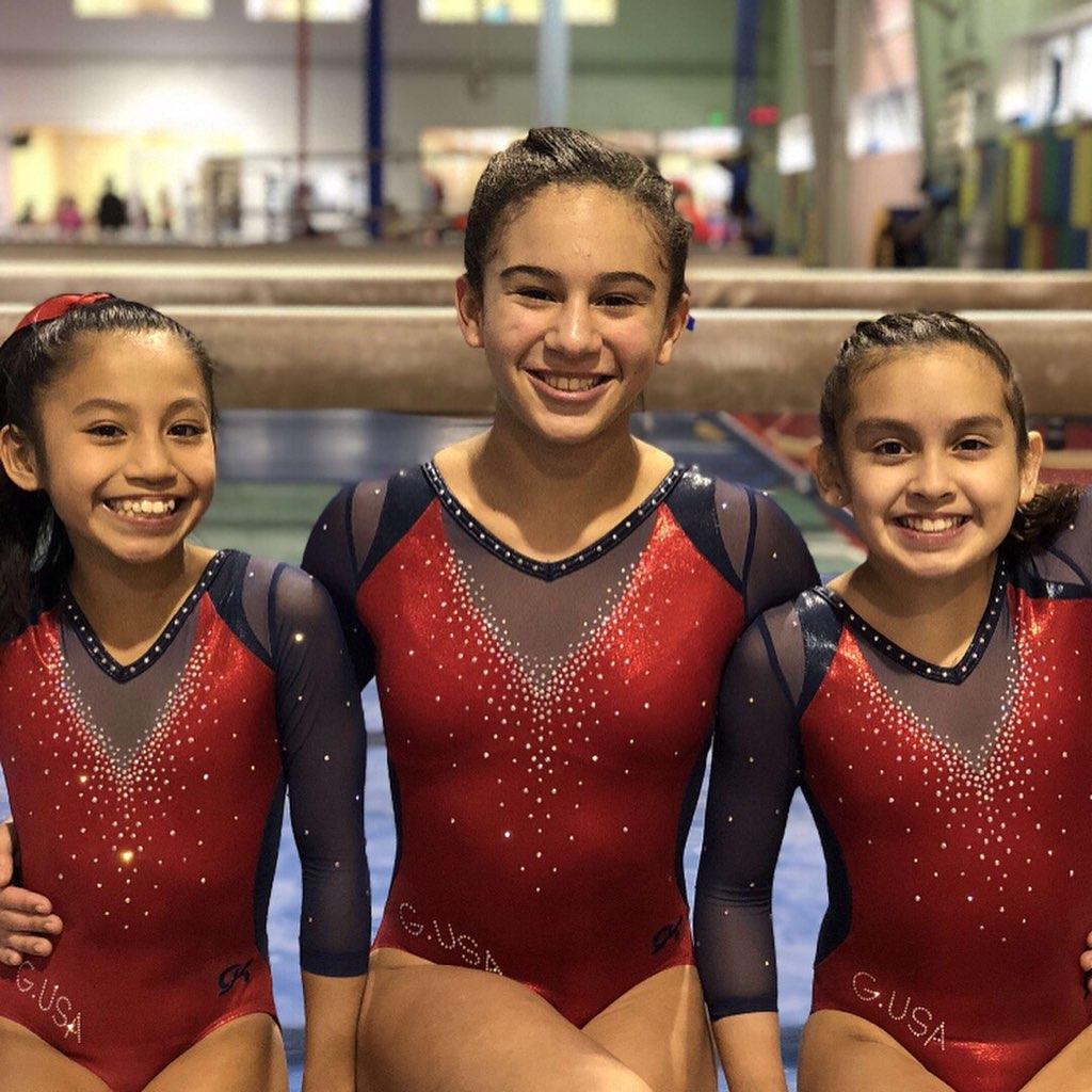 girls at gymnastics usa