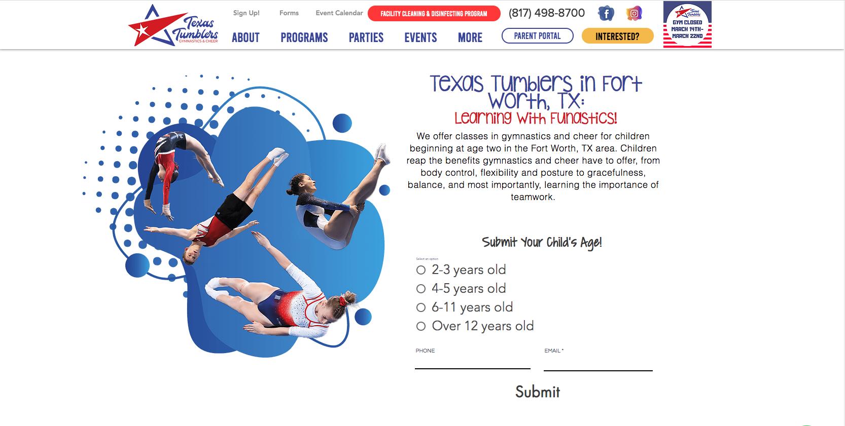 Texas Tumblers Gymnastics