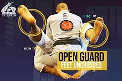 Open Guard Ft Uncrossed- Holds - 6 Level