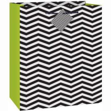 Bag Gift Zebra Black