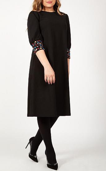 Bejeweled Sleeve Dress