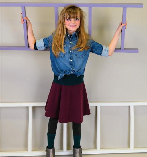 Teela Basic Rib Skirt