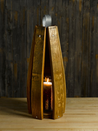 The Stave Lantern/Candle Holder