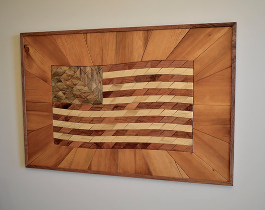 The Flag in Mixed Woods