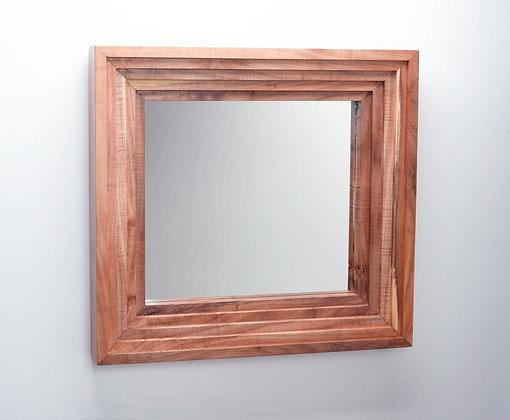 The Mid-Century Mod Mesquite Mirror
