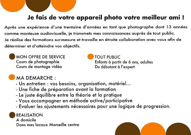 atelier photo et montage vidéo