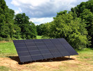 Ground mount panels