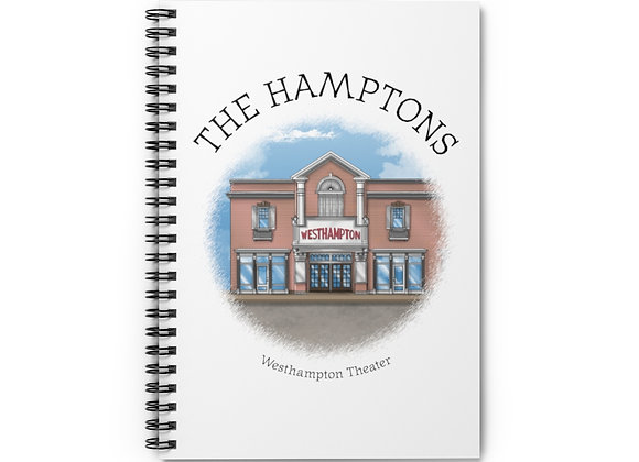 Westhampton Theater Spiral Notebook