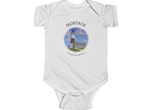 Montauk Point Lighthouse Onesie
