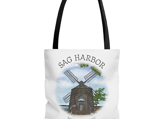 Sag Harbor Windmill Tote Bag