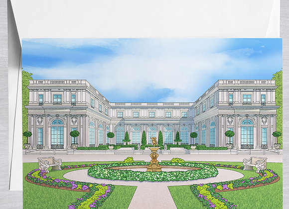 Rosecliff Mansion Notecard