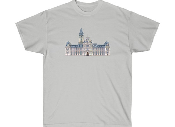 Philly City Hall  - Unisex Cotton Tee