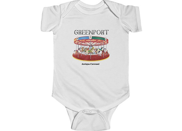 Greenport Carousel Onesie