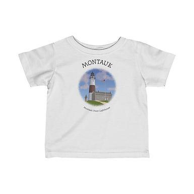 Monatauk Point Lighthouse Infant Tee