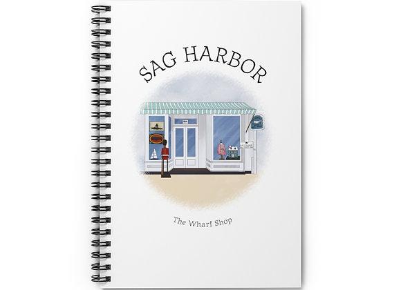 Wharf Shop Spiral Notebook
