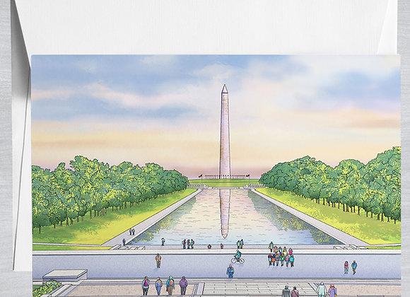 Washington Monument Notecard
