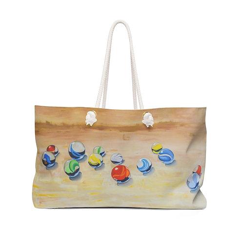 """Weekender Bag - """"Lucky 13"""" by Deborah Lennek"""