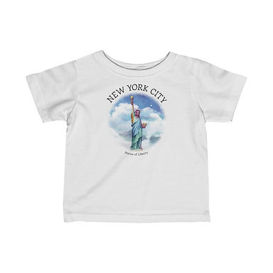Statue of Liberty Infant Tee