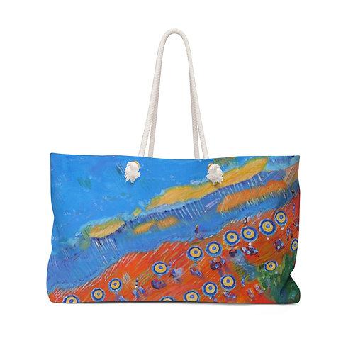 "Weekender Bag - ""Seagulls View"" by Cheryl Kramer"