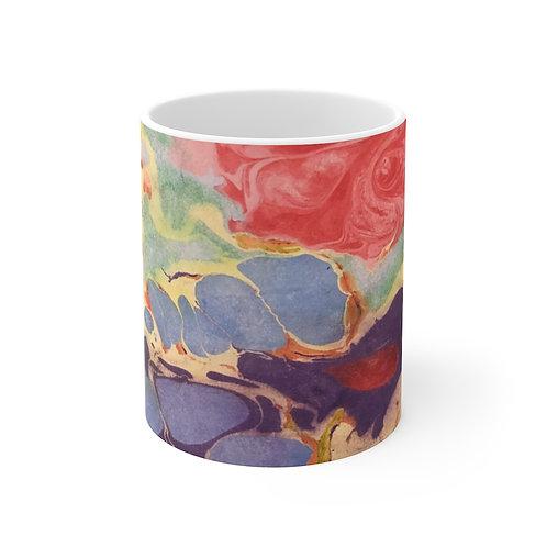 """Mug 11oz - """"Coral Reef"""" by Amy Worth"""