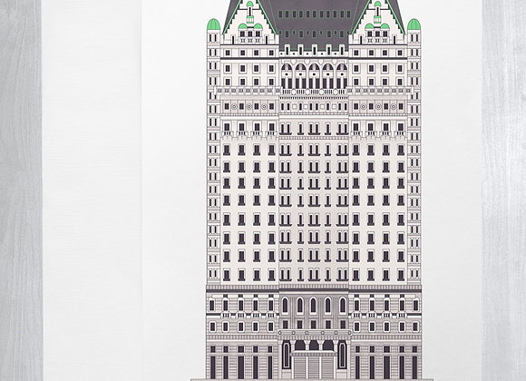 Plaza Hotel Notecard