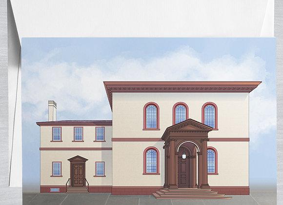 Touro Synagouge Notecard