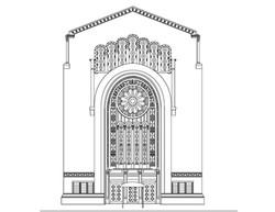 Temple Emanu-el coloring page