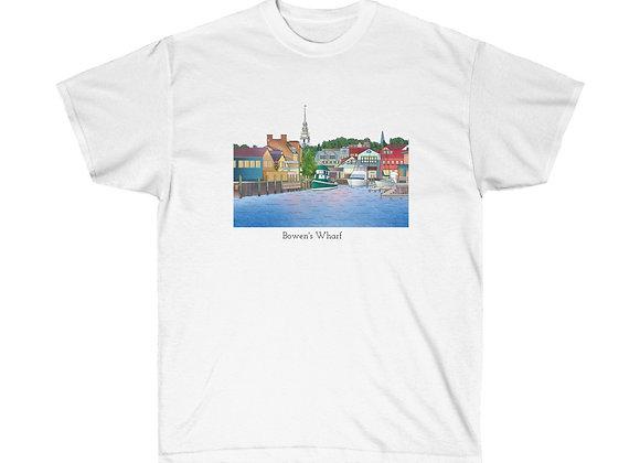 Unisex Cotton Tee - Bowen's Wharf