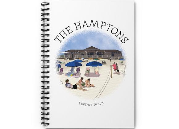 Coopers Beach Spiral Notebook