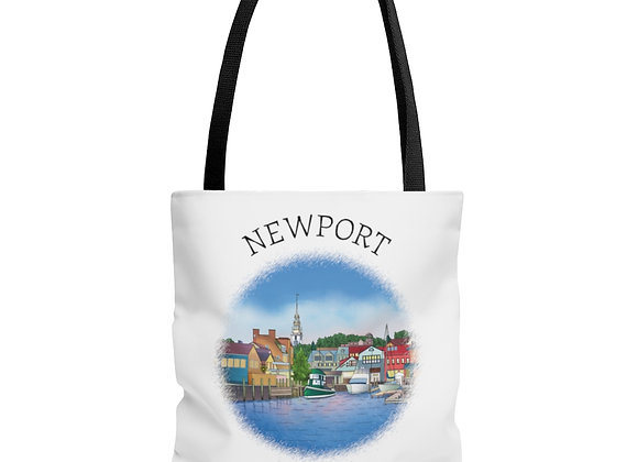 Bowens Wharf Tote Bag