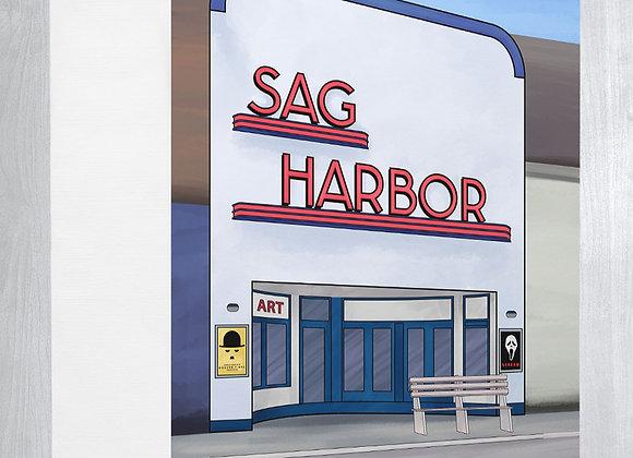 Sag Harbor Cinema Notecard